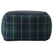 Beads Sofa Cover Ct Twill Grn Plaid