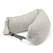 Cotton Fleece Fitting Neck Cushion Gray A16