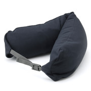 Fitting Neck Cushion W/hood Navy A16