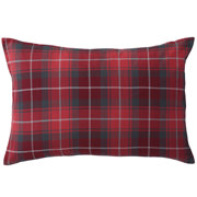 Organic Ct Flannel P/case 43* Red Chk 16aw
