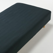 オーガニックコットンフランネルボックスシーツ・SS/グリーン/80×200×18~28cm用の商品画像
