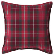 *ct Flannel C/cover Redchk A16