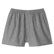 Ogc Front Open Woven Trunks Charcoal Gray L