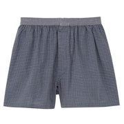 Ogc Front Open Woven Trunks Smoky Blue*chk Xs