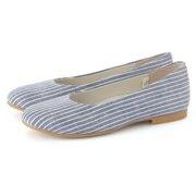 Flat Shoes Blue*st 22.5cm