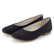 Water Repellent Flat Shoes 22.5cm Blue