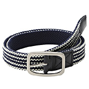 Reversible Stretch Boarder  Belt Navy*bor
