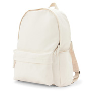 Water Repellent Ogc Rucksack W Side Pocket Raw Wht