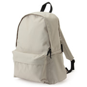 Rucksack With Side Zip Pocket L.beige