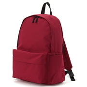 Rucksack With Side Zip Pocket Red