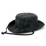 Water Repellent Safari Hat Dark Green