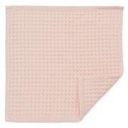 Organic Cotton Waffle Handkerchief Pink
