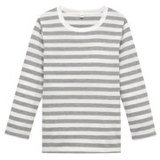 Daily Kids Wear Ogc Border L/s T-sht Gry 110