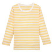 Daily Kids Wear Ogc Border L/s T-sht Lght Yellow 110