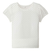 Everyday Kidswear Ogc Puff Sleeve T-shirt Off Wht 110