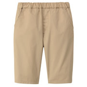 High Density Weeve Half Pants Light Beige 110