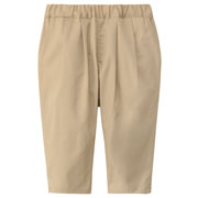 High Density Weeve Capri Pants Light Beige 110