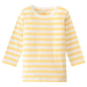 Daily Kids Wear Ogc Border L/s T-sht Lght Yellow 80