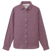 Ogc Double Gauze Chk Shirt Rose S