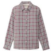 Ogc Double Gauze Chk Shirt Char Gry S