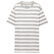 Ogc Uneven Yarn Border Crew Neck S/s T Shirt