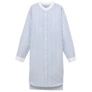 Ogc Washed Oxford Stripe Dress Lght Blue S