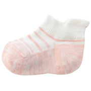 R/a St Sneaker-in Tabbed Crayon St Socks 11-13cm B.pink