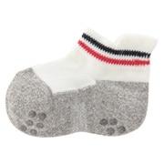 R/a Stretchy Sneaker-in Tabbed Socks W Line 11-13cm O.wht