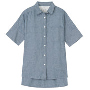 Ogc Chambray Wide S/s Sht Blue Xs - S
