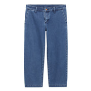 Ogc Stretch Denim Wide Cropped Pnts Blue S