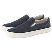 Water Repellent Ogc Slip-on Sneakers Blue 25.5cm