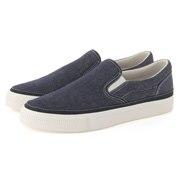 Water Repellent Ogc Slip-on Sneakers Blue 22cm
