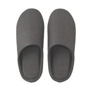 *linen Twill Cushion Slipper S Dgry S17