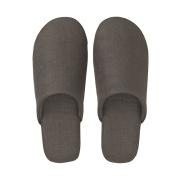 Linen Soft Slipper L Dgry A17