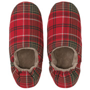 Flannel Soft Rm Shoes L Red A17