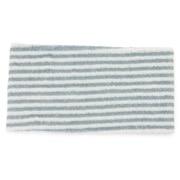 Pile Hair Turban/wide Blu Str