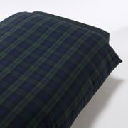 Organic Ct Flannel D/cover Q Grnchk A17