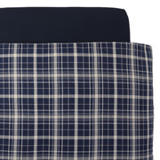 Organic Ct Flannel D/cover K Nvychk A17