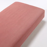 Organic Ct Flannel F/sheet S Red A17