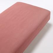 Organic Ct Flannel F/sheet Q Red A17