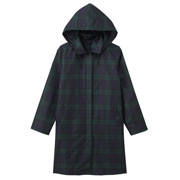 Polyester Rain Coat With Bag Blackwatch
