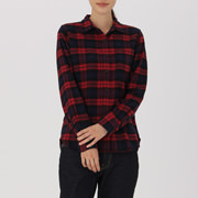 Ogc Flannel Chk  Sht Red S