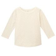 Everyday Kidswear Ogc Slab Dot 3/4 Slv Tshirt Raw Wht 110