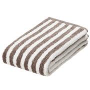 Ogc Blend Soft F/towel Lt.brn Stripe 16aw