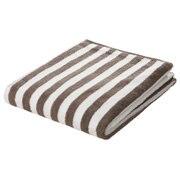 Ogc Blend Soft B/towel Lt.brn Stripe 16aw