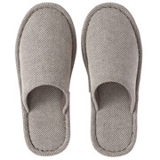 Reused Ct Blended Plain Weave Cushion Slipper L Dbn 16aw