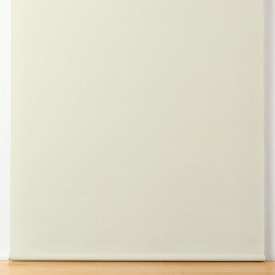 ポリエステル平織ロールスクリーン・チェーンタイプ/グレーベージュ/幅90×丈135cmの写真