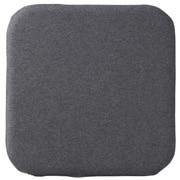 Urethane Foam Low Repulsion Flat Cushion Sq Char 16aw