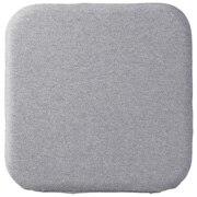 Urethane Foam Low Repulsion Flat Cushion Sq Gry 16aw