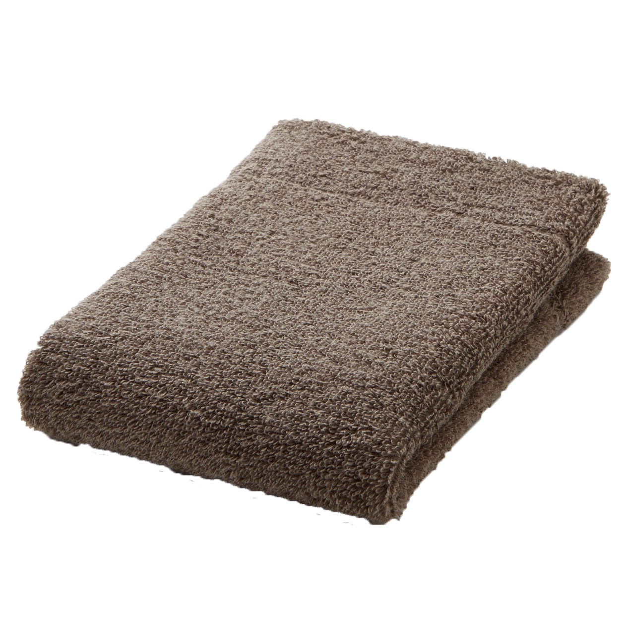 brown thin Hand towel